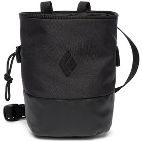 Black Diamond Mojo Zip Chalk Bag S/M, black